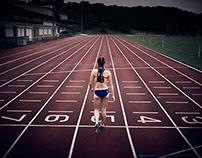 Emily de Beaux, runner