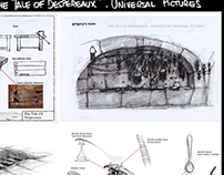 "Animation:""The Tale of Desperaux"" designs"