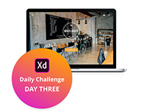 Adobe XD Challenge Day Three - Newsletter Pop-up