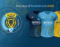 """New style for football club """"Ajax Tallinn"""""""
