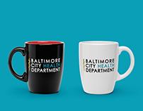 Baltimore City Health Department Rebranding • Logo