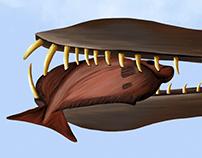 Pterosaurio en Colombia