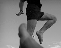 Freerun Runing School / Black and White Pictures