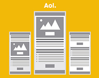 AOL Email Re-design