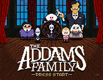 The Addams Family 8-bit