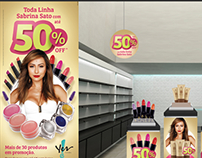 Yes! Cosmetics • Visual Merchandising