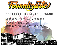 Festival Poster, Leaflet, event banner (Formalizarte)