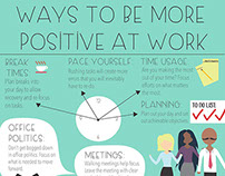 Work Positivety Infographic