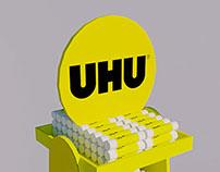 UHU Floor Display
