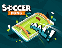 Soccer Pong - mobile game