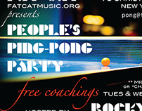 Fat Cat NYC | People's Ping-Pong Party