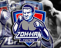 Logo for personal trainer and fighter