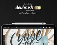 DevBrush™ 4.0 for Procreate