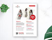 Free Proffesional Fashion Flyer Design by Suhama99