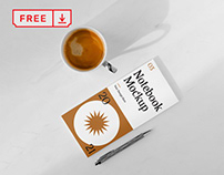 Free Paper Notebook Mockup
