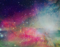 Space scenery