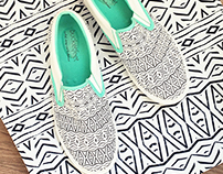 Pom Graphic Design & Bucketfeet Shoes