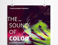 Z Hair Academy Student Showcase Advertising