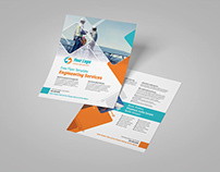 Power Engineering Services Flyer Template