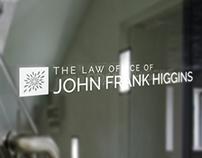 John Frank Higgins Website and Brand Refresh