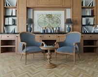 Classic Style 3D Interior design