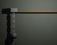 3D animation practice - pendulum