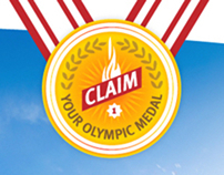DSM, Claim Your Olympic Medal, Activation campaign