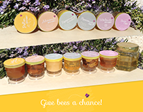 Honey Labels - #givebeesachance
