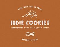 Indie Cookies Handwritten Font