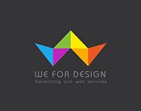 We For Design Logo