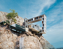 Mountain House in BC, Canada by Milad Eshtiyaghi