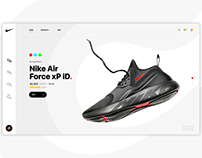 Nike Product Landing Page - Concept