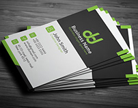 Modern Business Card Desgin Free PSD