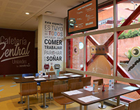 Identidad Visual Cafetería Central Uniandes