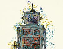 Splatter Robot