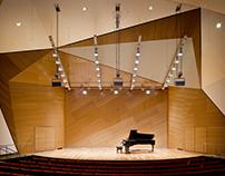 UCSD Conrad Prebys Concert Hall & Campus