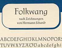 P22 Folkwang Pro - Digital Type Design