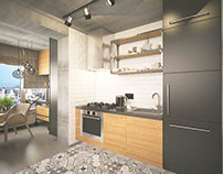 Bachelor's flat