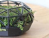 3D printed basket UNDER THE DOME by Le Maitre Cu3e