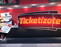 TICKETÍZATE CINEMEX