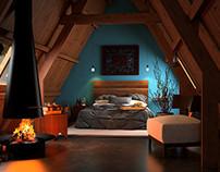 Wood Cabin - Archviz