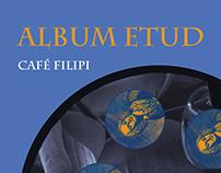 Café Filipi: Album Etud - book cover design