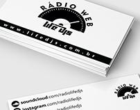 Business Cards - Rádio Life DJS and The Power