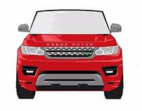 Range Rover Desinging