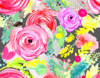 Bright Floral II