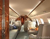 Illustration: Aircraft Interior
