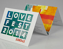 Lovefest Conference | Event Branding