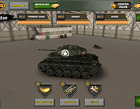 Tank UI Game Design