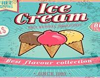 Ice Cream Flyer Animation