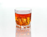 Beverage shoot of Jack Daniel
